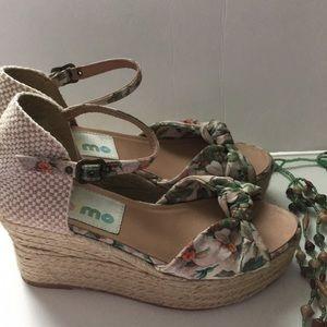 True Gaimo floral print heels